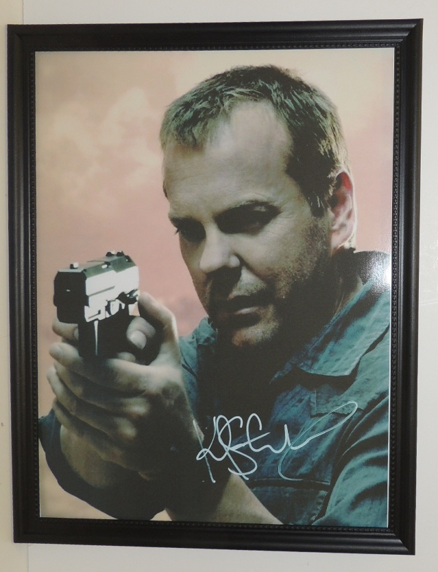 24 TV Series Kiefer Sutherland (Jack Bauer) Signed Print