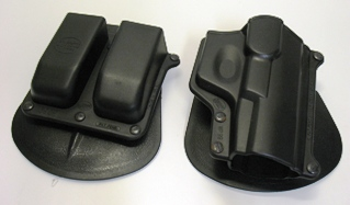 Fobus Walther P99 Holster With Double Magazine Pouch